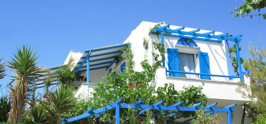 Studios Apartments in Naxos Island :  Sea View